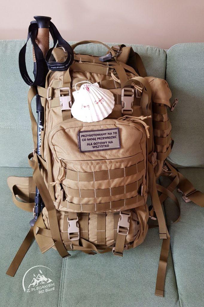 dobry plecak na Camino  otwierany walizkowo